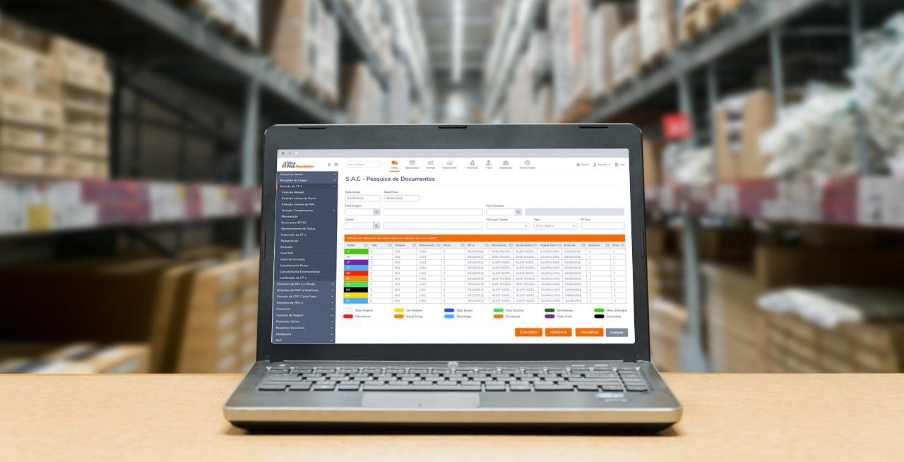 O que é um Software TMS?